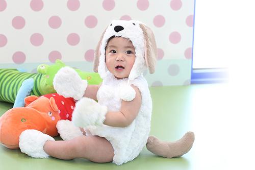 1歳誕生日 初節句等 子供撮影